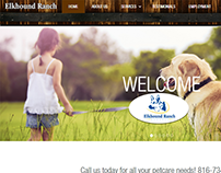 Elkhound Ranch Kennels - Website