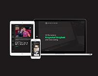 Krzysztof Grzybek - Website