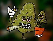 Cannabis industry Design & Illustration