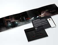 Porsche Panamera launch invitation concept