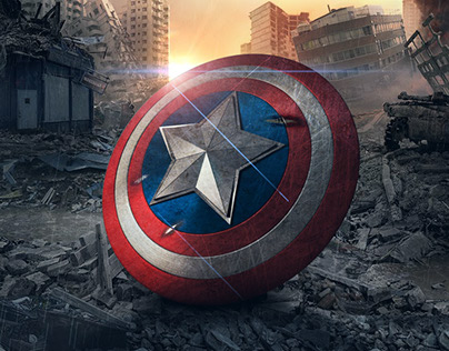 3D Modeling & Rendering | Captain America's Shield