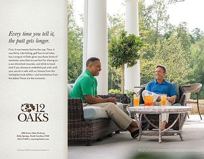 12 Oaks Community Print Ad Campaign