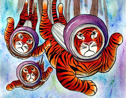 Scuba Diving Tigers of the Sundarbans