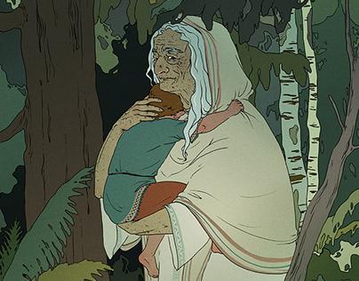 Folktale illustrations