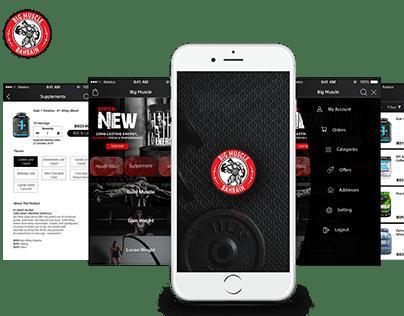 Big Muscle - Mobile App
