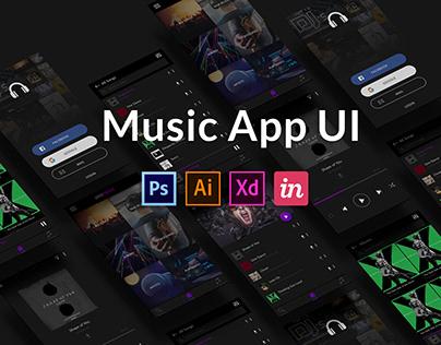 Music App UI