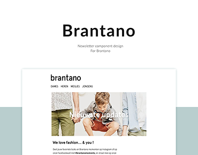 Brantano - Component Based Newsletter