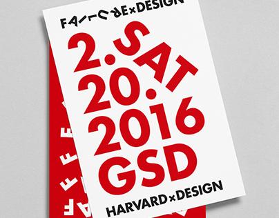 HarvardxDesign, Identity System