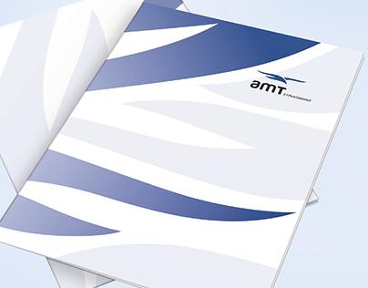 amt insurance / folder design