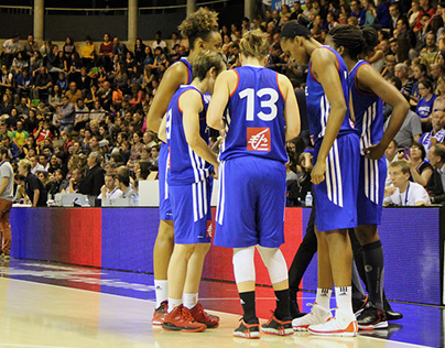 PHOTO REPORT : BASKETBALL MATCH FRANCE - SERBIA