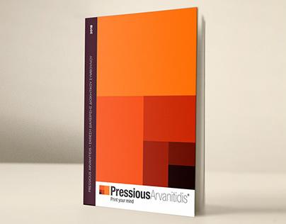 Pressious Arvanitidis annual report - design proposal