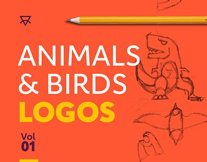 Animals & Birds LOGOS .. Vol 01