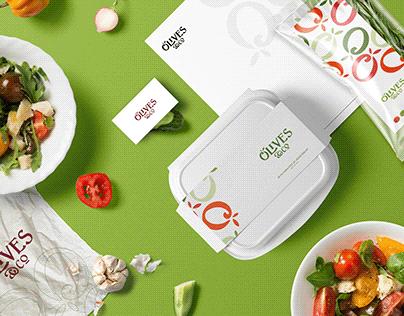 Olives and co brand design