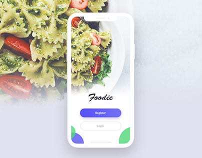 Foodie App UI Design