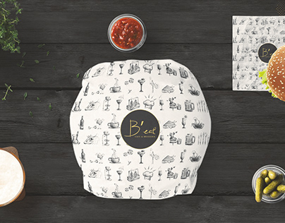 BURGER & PIZZA BRANDING