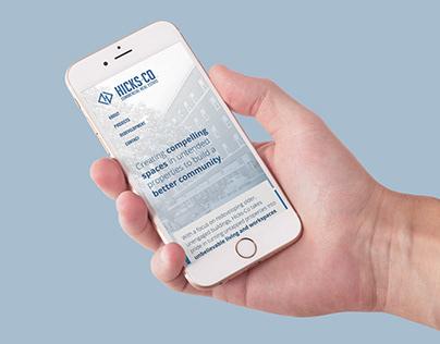 Hicks-Co. Website Design