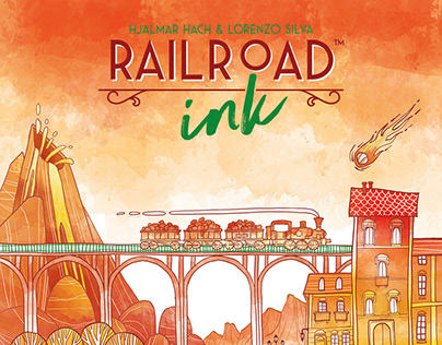 Rail Road Ink - Blazing Red Edition