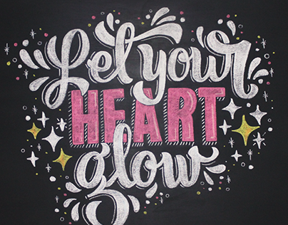Let your heart glow
