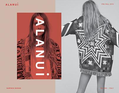ALANUI - Surface design