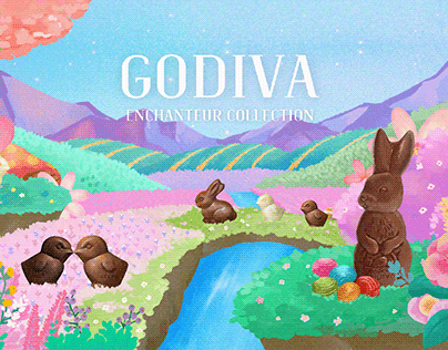 godiva BX micro web site design / web design