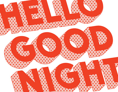 Hello Good Night Logo Exploration
