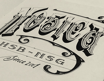 Inked Letters