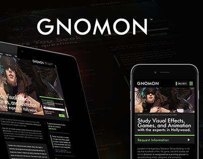 Gnomon School of Visual Effects, Games + Annimation