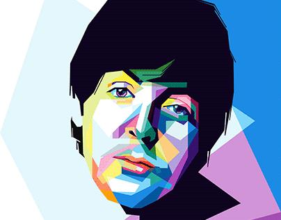 Pop Art Paul McCartney