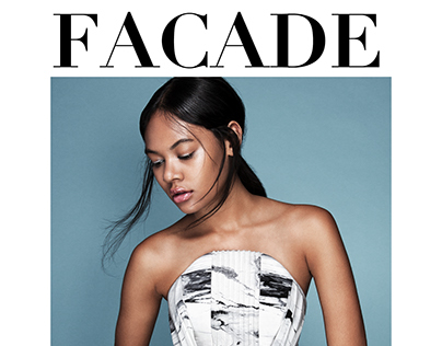 """""""Illussory Dreams"""" Cover story for FACADE Magazine"""
