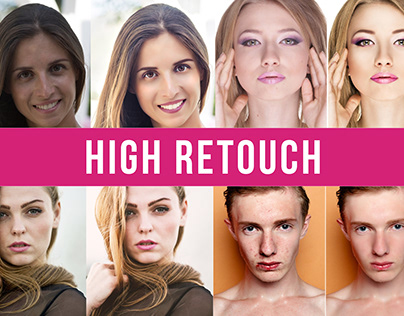 High Glamour Retouch