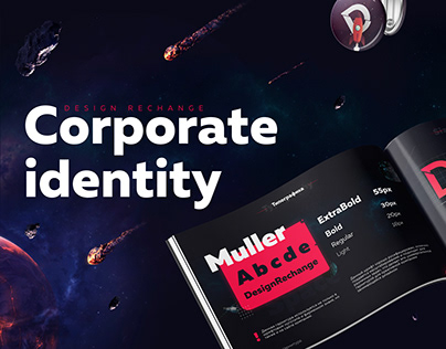 Corporate identity for design studio