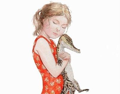 Мой любимый крокодил