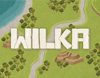 WILKA. Interfaz de videojuego.