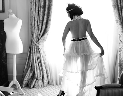 20s Glam Wedding Photoshoot by XOANDREA