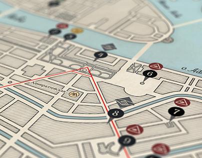 Map «Masonic Petersburg»