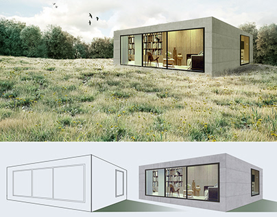 Архітектурна графіка Photoshop