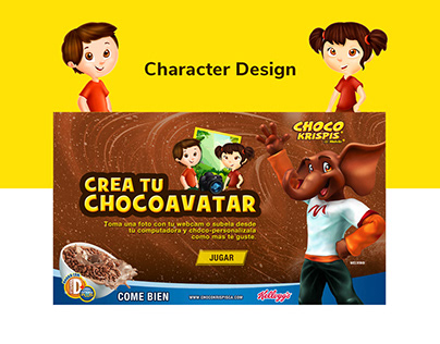 ChocoKrispis - Character Design