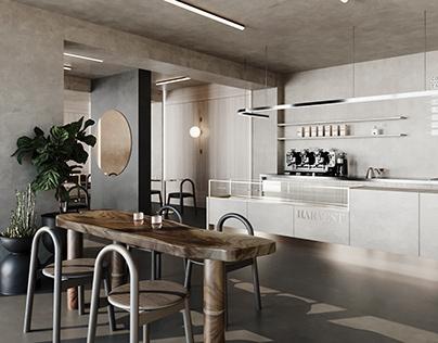 HARVEST coffee shop