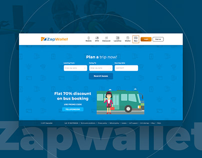 Zapwallet - Online Recharge Website
