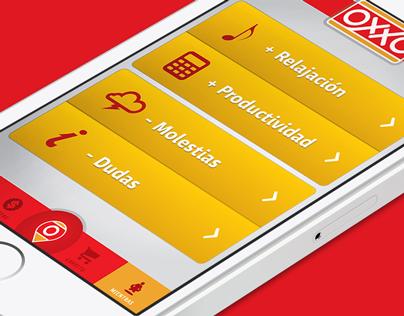 OXXO Mobile App concept