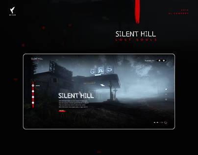 Silent Hill: Lost Souls Landing page
