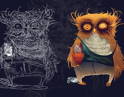 Lazy Owl