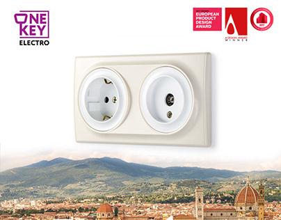 OneKeyElectro products design. Florence, La Garda.