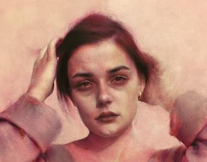 ''İsimsiz'' Oil on canvas 50x50 cm T.Ü.Y.B.