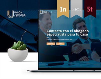 Web App Unión Jurídica
