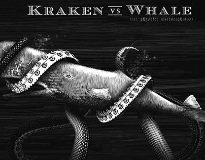 Kraken Rum Illustrations Created by Steven Noble