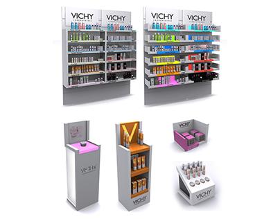 Vichy - display