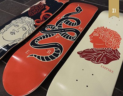Greek mythology skateboards