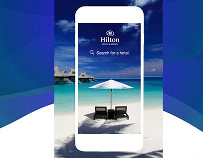 Hilton Search Results Homepage - Adaptive