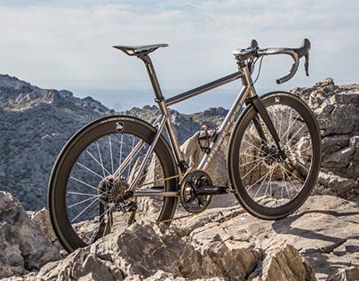 Wittson titanium road disc bicycle Illuminati 164